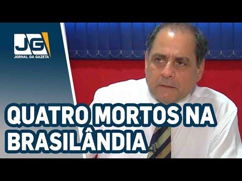 Quatro mortos de madrugada na Brasilândia