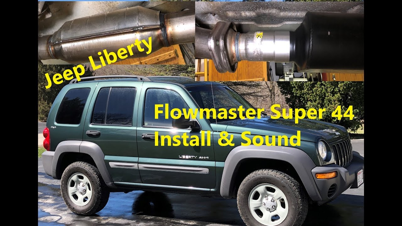 2002 Jeep Liberty 3 7 Flowmaster Super 44 Install Instructions