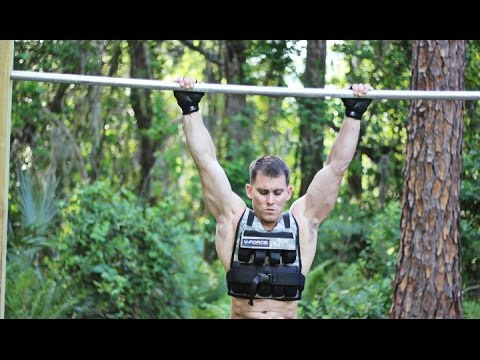 Best Weighted Vest For Pull-ups! 50 Pull-ups With 25lb Vest