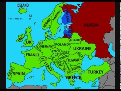 "Alternate Future of Europe:""Growing Countries"":E1S1"