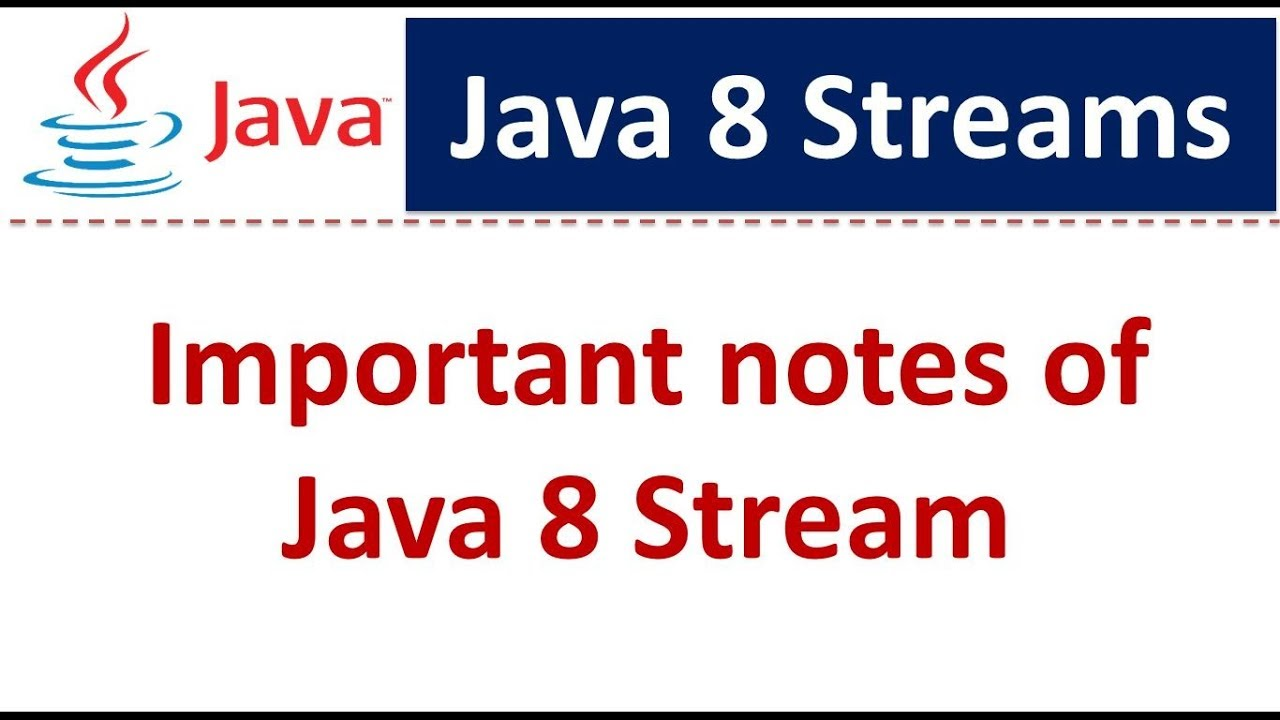 Java data structure tutorial gallery any tutorial examples important notes of java 8 stream java 8 streams tutorial java important notes of java 8 baditri Images