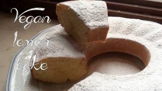 Vegan Lemon Cake Recipe -  Superecipes