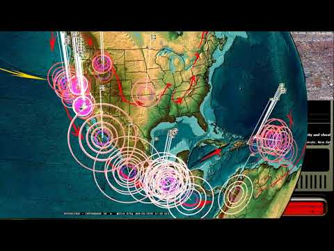 1/20/2018 -- Gulf of California M6.3 -- New Deep earthquakes + West Pacific movement