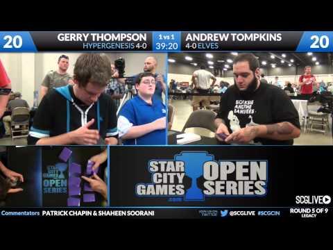 SCGCIN - Leg - Rd 5 - Gerry Thompson vs Andrew Tompkins