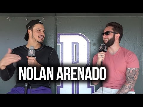 What did Nolan Arenado purchase after he signed his mega-contract? || Starting 9 Full Interview