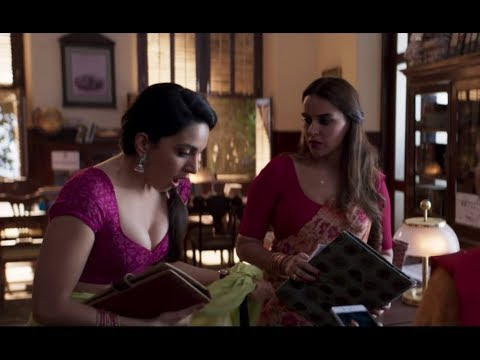 Kiara Advani Hot Cleavage scene  - Lust Stories thumbnail