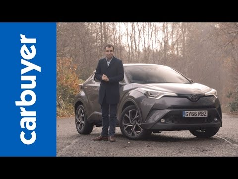 Toyota C-HR SUV review – Carbuyer