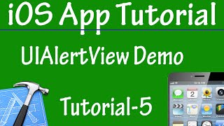 Free iPhone iPad Application Development Tutorial 5 - UIAlertView Demo for iOS App