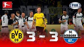 Borussia Dortmund - Paderborn [3-3] | GOLES | Jornada 12 | Bundesliga