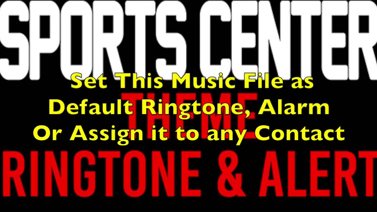 ESPN Sports Center Ringtone 1 1 Free Download