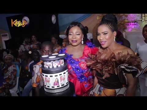 See Who Spray Fathia Balogun Money Again As Mide Martins, Regina Chukwu & Others Storms Dance Floor