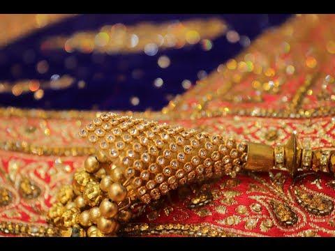 "ar-537-""eternal-glamorous""-banarasi-saree-bridal-wear-||-zari-work-||-stone-work"