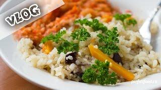 видео: Вегетарианская еда: влог