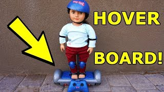 New Hoverboard For Baby Dolls, My Life As Hoverboard!