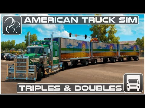 Triples and Doubles (American Truck Simulator 1.28 Beta)