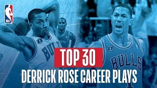 Derrick Rose's UNREAL Top 30 Plays!