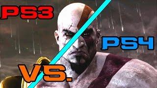God of War III PS3 Vs. PS4 Side by Side comparison