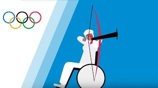 Zahra Nemati the Olympic and Paralympic Archer