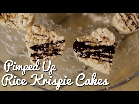KIDS PARTY RECIPES | Homemade Rice Krispie Cakes