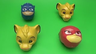 Surprise Matching Game for Kids and Toddlers| Fun Learning Contest | PJ Masks Lion King