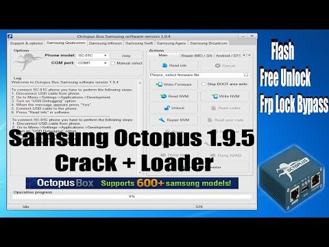 Octopus 1.9.5 Crack | Without Box 2018 |Free Unlock Samsung