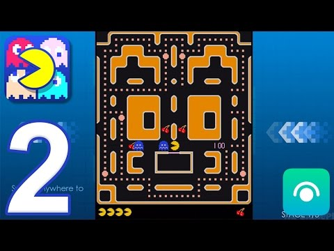 PAC-MAN – Gameplay Walkthrough Part 2 – Mazes: 360 Escape, Cute, Night (iOS, Android)