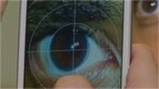 Smartphone application for 'EYE TEST'