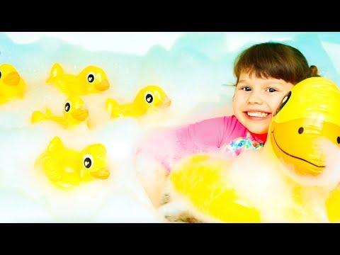 Five little ducks kids song by Agnes