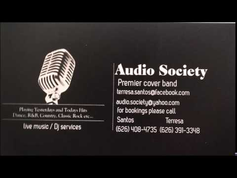 Audio Society- Studio Recordings