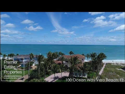 Oceanfront Mansion Vero Beach - Million Dollar Waterfront Home  - 100 Ocean Way Vero Beach, FL
