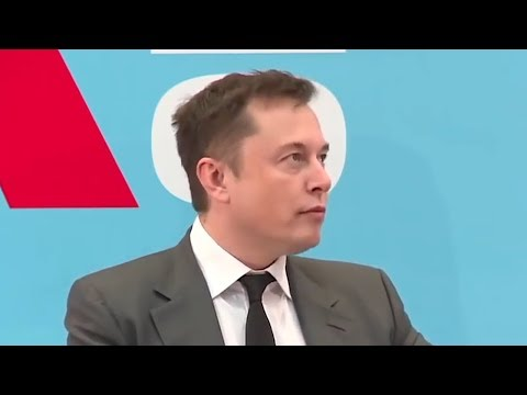 Reporter Stunned when Elon Musk provides solution to China\'s energy needs