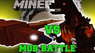 RODAN VS BURNING GODZILLA - Minecraft Mob Battles - Minecraft Mods