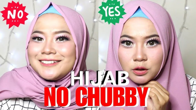 Tips Dan Tutorial Hijab Agar Pipi Tidak Terlihat Chubby Youtube