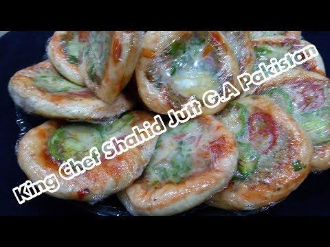 King Mini Pizza Bakery Style King Chef Shahid Jutt G.A Pakistan