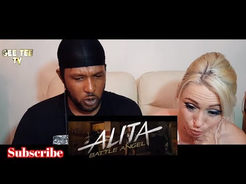 ALITA BATTLE ANGEL TRAILER REACTION VIDEO
