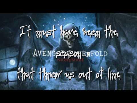 Avenged Sevenfold-Victim (lyrics vid)