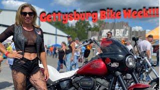 Meg Goes To Gettysburg Bike Week