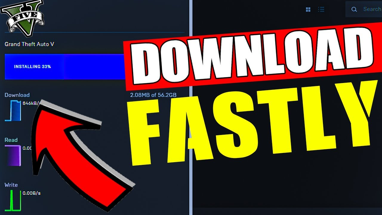 How to make downloads for the Epic Games Launcher go ...