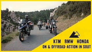 Sur de Francia en moto con KTM 790 Adventure R, BMW R1250GS y Africa Twin