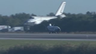 X-37B OTV-4 landing (close-up)
