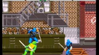 Teenage Mutant Ninja Turtles - Turtles in Time (4 Players ver UAA) - Gamer Teddy Plays: TMNT - Turtles in Time (Parents are Trolls...) - User video