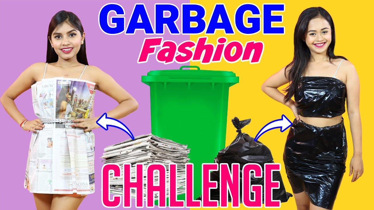 Garbage Fashion Challenge | DIY Queen