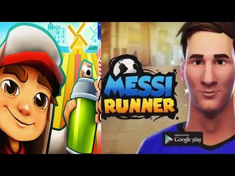 Subway Surfers Amsterdam VS Lionel Messi Runner - best iphone android games