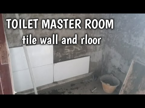 Toilet Master Room Tile Installation Floor And Wall