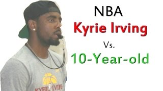 Kyrie Irving NBA Vs 10-year-old Max Basketball Shooting Contest: The Rematch