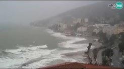 Potopljena Opatija, razorni valovi i olujna kiša 21.12.2019. LIVE: