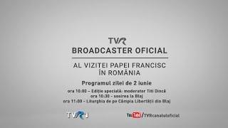 Papa Francisc in Romania - vizita pe Campia Libertatii din Blaj LIVE (TVR1)