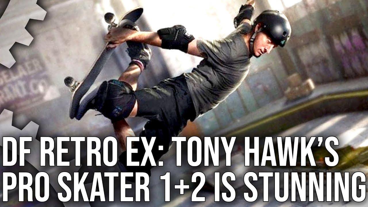 DF Retro EX: Tony Hawk's Pro Skater 1+2 - A Brilliant Remake of a Classic Gaming Series!