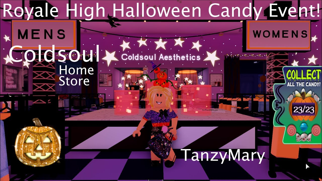 Coldsoul Halloween Candy Event Royale High Candy Locations Easy