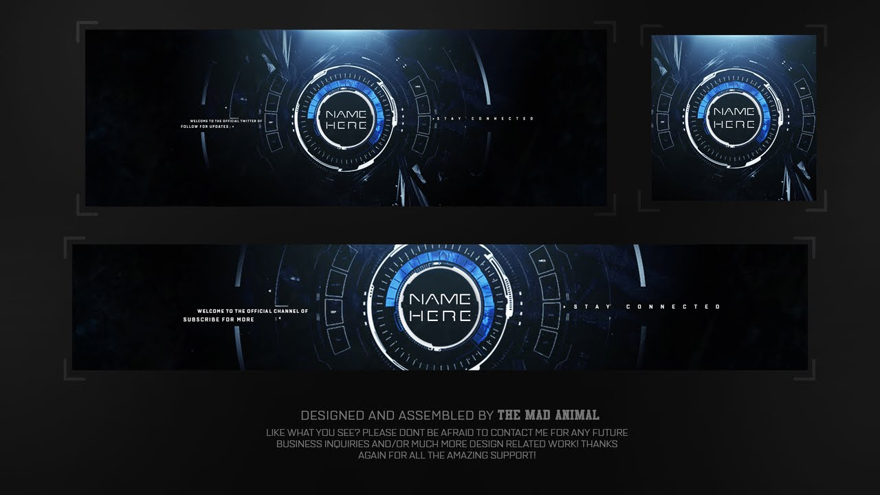 Free Youtube  Twitter  U0026 Avatar Revamp  Rebrand Template   3